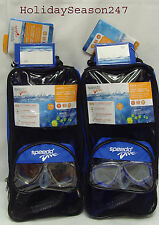 Speedo Dive REEF SCOUT Mask+Snorkel+Fin Junior 6-14 Swimming Diving Snorkeling
