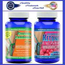 Garcinia Cambogia 1300 Extract & Raspberry Ketone Lean Weight Loss Supplements