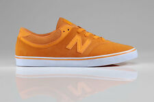 NEW BALANCE NUMERIC - MENS QUINCY 254 SKATE SHOES - ORANGE - FREE SHIPPING