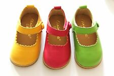 Toddler Baby Girl Shoes kids Mary Jane flats dress Genuine Leather USA SIZE 5~10