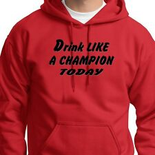 Drink Like A Champion Today Notre Dame T-shirt Funny Drinking Hoodie Sweatshirt