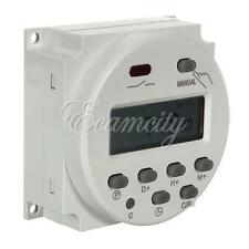 New AC 110V/220V Digital LCD Power Programmable Timer Time Switch 16A Relay