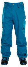 Sessions Gridlock Shell Snowboard Pants Bright Blue Mens