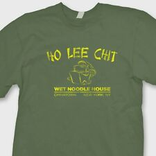HO LEE CHIT Wet Noodle House Funny Rude T-shirt Chinese Food Tee Shirt