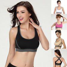 In S M L Lady Leisure Stretch Slim Exercise Yoga Workout Tank Top Sports Bra HOT
