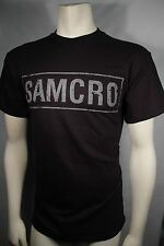SONS OF ANARCHY SOA SAMCRO BANNER LOGO REAPER MOTORCYCLE BIKER T TEE SHIRT S-3XL