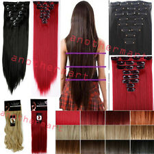 SALON FINEST hairstyles HAIR EXTENTIONS straight FULL HEAD best quality V5