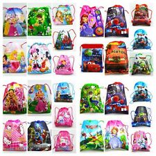 Cartoon image Drawstring Backpack Handbags waterproof camping bags 60 Options