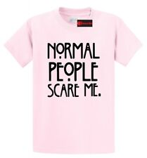 Normal People Scare Me Funny T Shirt USA TV Horror Story Gift Funny Unisex Tee