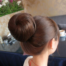 New Chic Hair Extensions Lady Updo Clip on Bun Dish Dome  Chignon Hairpiece