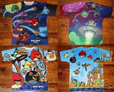NEW Boys Angry Birds Multi color Bright T Shirt Choose Your Style