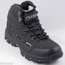 Air Balance Hiking Boots Youth Boys Medium Synthetic Black Silver