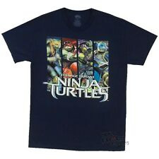 Teenage Mutant Ninja Turtles 2014 Movie Panels TMNT Licensed Adult Shirt S-XXL