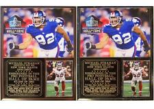 Michael Strahan 2014 Pro Football Hall of Fame New York Giants Photo Plaque