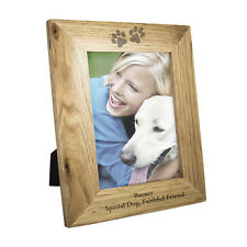 PERSONALISED DOG CAT PHOTO FRAME Sorry for Pet Loss Gift Idea, New Puppy Present