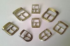 METAL CENTER BAR BUCKLES FOR STRAP  *15mm*  *16mm*  *19mm*  * 25mm*