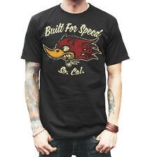 La Marca Del Diablo 666 Built for Speed II  T Shirt Hell's Outlaw Born to Run
