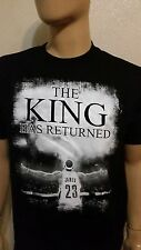 The King Has Returned  T-shirt TEE    James 23 Cleveland Cavaliers Lebron LB23