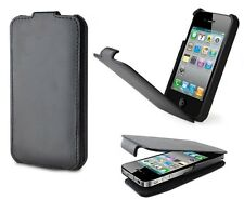 GENUINE LEATHER DEXIM DCA220 FLIP CASE 2000MAH BACK UP BATTERY FOR iPHONE 4 4S
