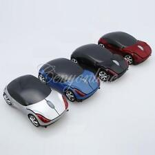 3D Wireless 1600dpi Optical Car Mouse Mice + USB 2.0 Receiver for PC Notebook