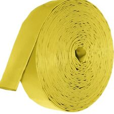 Yellow Layflat PVC Water Delivery Hose - Discharge Pipe Pump Lay Flat Irrigation