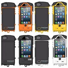 Snow Lizard SLXtreme Waterproof Solar Powered Battery iPhone 5/5S Case 4 colors