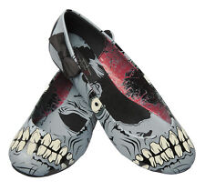 Iron Fist Zombie Stomper Ballet Flats - Black / GLOW IN THE DARK