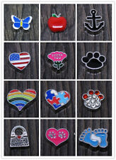 New Floating Locket Charms for Glass Living Memory Lockets 5 piece Free Shipping