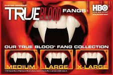 TRUE BLOOD VAMPIRE DRACULA COSTUME HALLOWEEN PROSTHETIC FAUX TEETH HBO FANGS