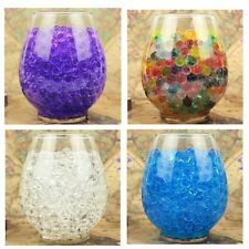 5000pcs Water Plant Flower Jelly Crystal Soil Mud Water Pearls Gel Beads Balls