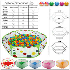 Baby Kid Children Portable Ball Pit Pool-Outdoor Indoor Play Tent Center Playhut