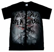 The Walking Dead AMC Don't Open Dead Inside Men's Black T-Shirt