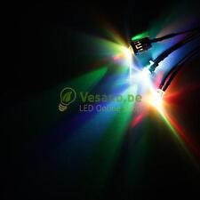 1 Cabeled LED 5mm RGB Slow LED Cabeled for 3V 4V 5V 6V 7,2V 12V 14V 24V