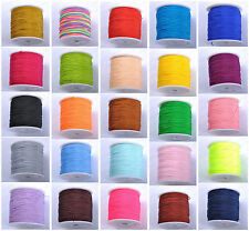 1Roll 100Yards Nylon Cord Thread Chinese Knot Macrame Bracelet Braided Cord 1MM