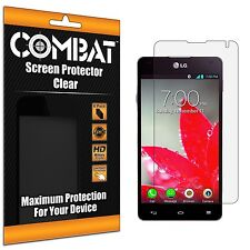 6X COMBAT HD Screen Protector Cover Shields For LG Optimus G LS970 Eclipse
