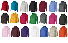 12, 24, 36 Gildan Heavy Blend Hooded Hoodie Sweatshirt 18500 S-XL WHOLESALE