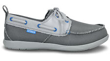 Crocs Walu Canvas Deck Mens Shoes