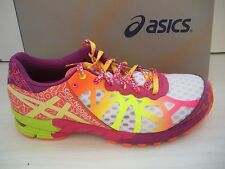 ASICS WOMENS GEL-NOOSA TRI 9 RUNNING SHOES- SNEAKERS- T458N 0104- WHITE- NEW