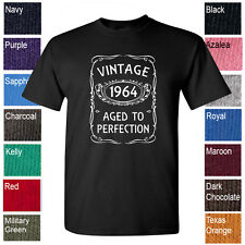 Vintage 1964 Aged To Perfection 50th Birthday t-shirt 50th anniversary tee shirt