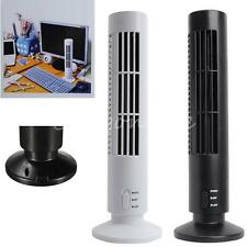 Mini Portable USB Laptop PC No Leaf Air Conditioner Cooling Cool Desk Tower Fan