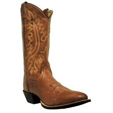 Old West Mens Brown Leather Western Boot OW2070 NIB