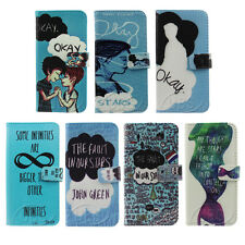 The Fault In Our Star Design Wallet Flip PU Leather Case for iPhone4 4S 5 5S 5C