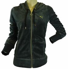 NEW - PUMA WOMEN'S VELOUR SULT JACKET sweat hoodie