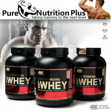 OPTIMUM NUTRITION GOLD STANDARD 100% WHEY PROTEIN BEST BODYBUILDING SUPPLEMENT