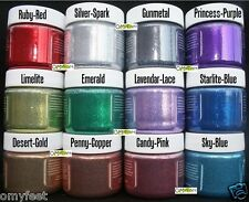 Angelus Glitterlites Leather Vinyl Fabric Glitter Paint Flexible Glittercoat 1oz