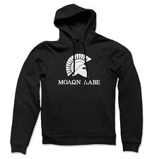 2nd Amendment Hoody Molon Labe Spartan NRA Don't Tread on Gun Rights Sweatshirt