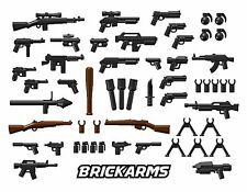 BRICKARMS GUNS,BLASTERS AND WEAPONS - FITS LEGO MINIFIGURES - CUSTOM MADE