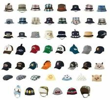NWT Gymboree Boys Assorted Ball Caps Beanies Bucket Hats Sz 0-5T 3 Yrs & Up