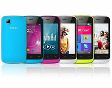 Blu Hero JR S250 Unlocked Smartphone Dual SIM Easy to Use - New Multiple Colors