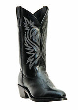 NEW Mens Laredo London Black Leather Western Cowboy Boots Style 4210